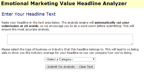 create twitter friendly headlines