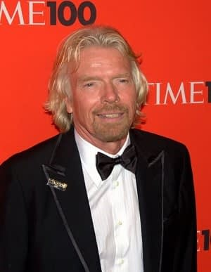 Richard Branson building thought leadership