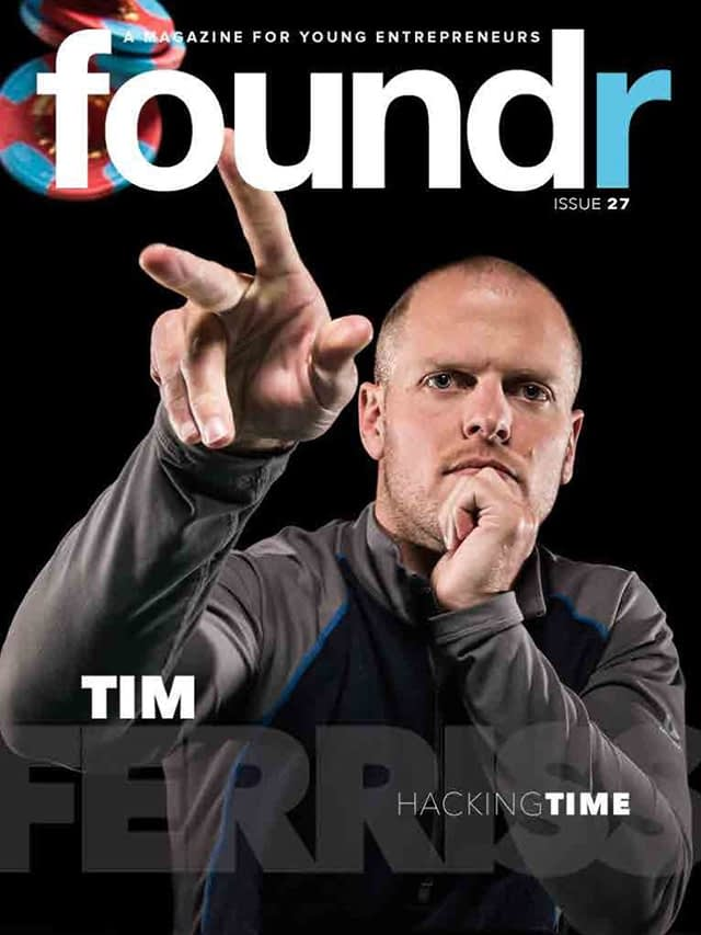 tim ferris on foundr mag cover