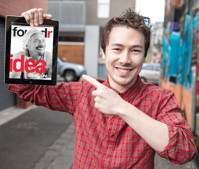 Foundr magazine's founder - Nathan Chan