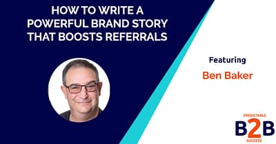 how to write a brand story that boosts referrals