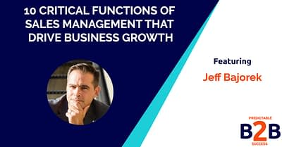 10 critical functions of sales management that drive business growth