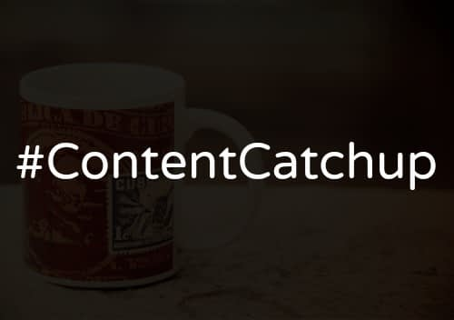 #ContentCatchup: Visual Content Strategies & Spirit of Giving