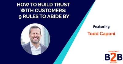 How to build trust with customers- 9 rules to abide by
